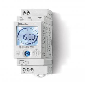 12 Serisi Mekanik / Elektronik Dijital Zaman Anahtarı